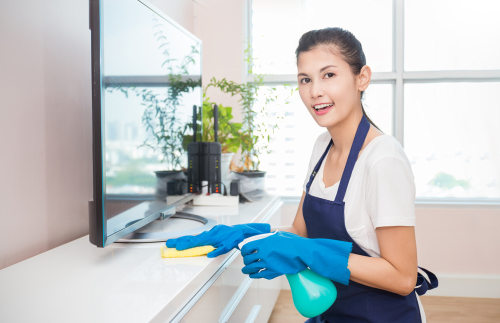 Ad hoc Cleaners and Full Time Maid